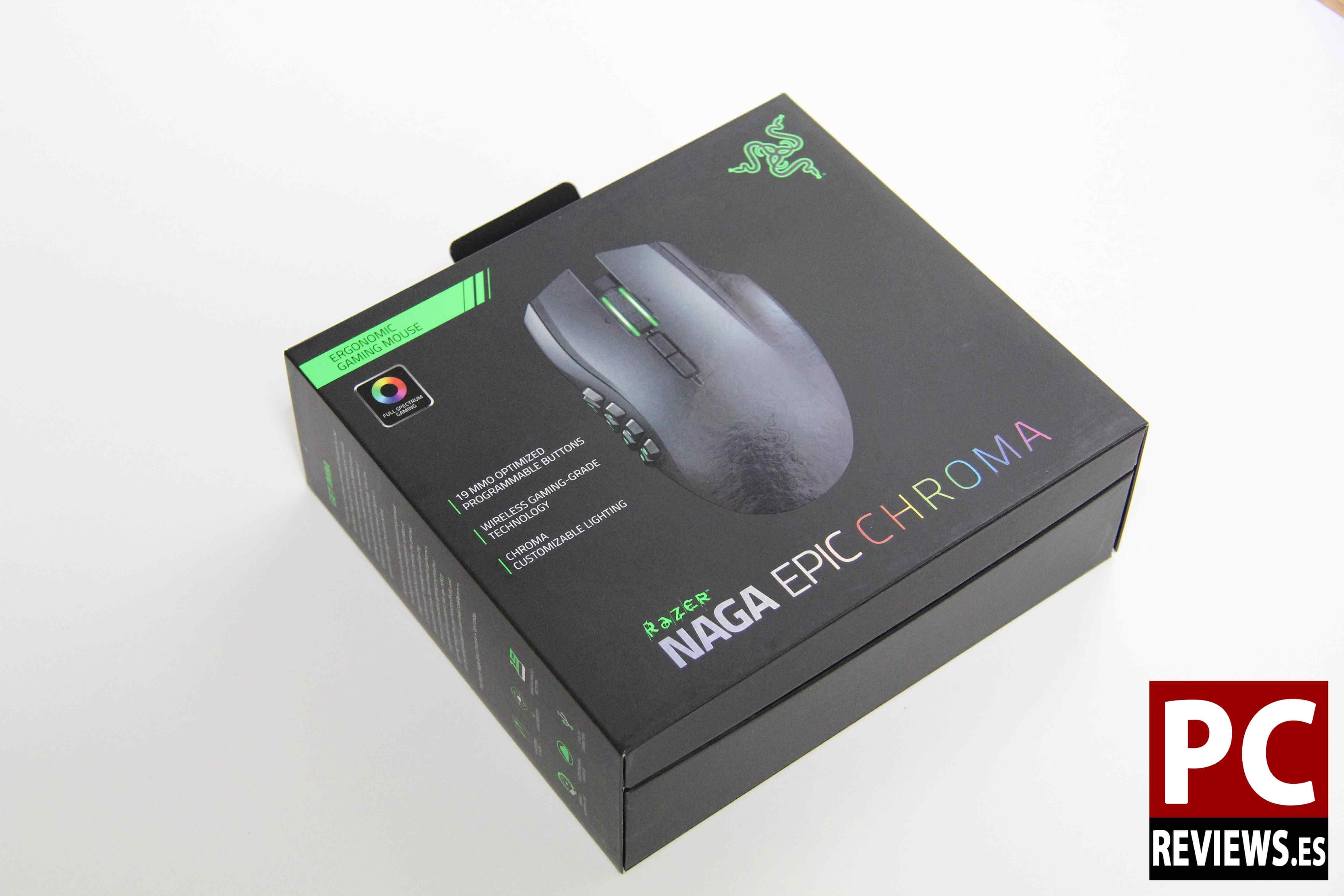 Razer Naga Epic Chroma Review Wired Wireless Mmo Pcreviews
