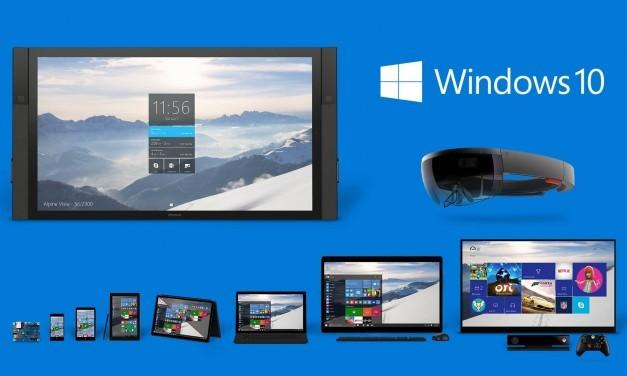 Windows 10 aumenta su cuota de mercado y Windows XP crece rápidamente