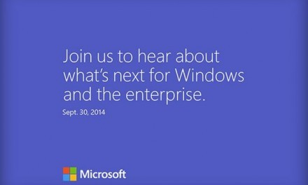 Windows 9 el 30 de Septiembre