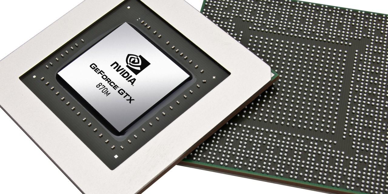 Se filtran las posibles características de la Nvidia Geforce GTX 870
