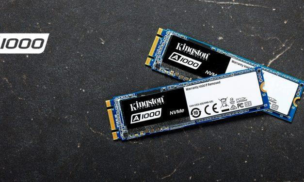 Kingston SSDNow A1000 Review