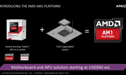Los primeros procesadores AMD de socket AM1 llegarán pronto al mercado