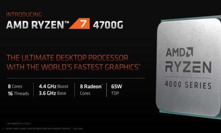 Gran éxito del AMD APU Ryzen 4000G 'Renoir'