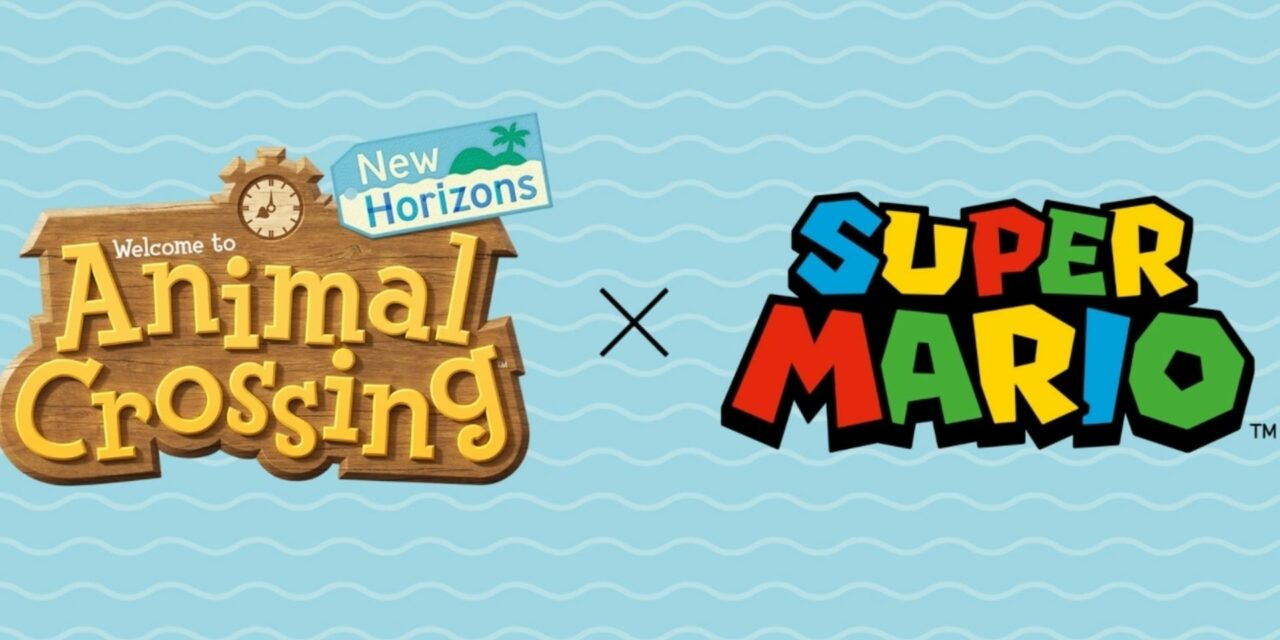 Super Mario se une con Animal Crossing New Horizons