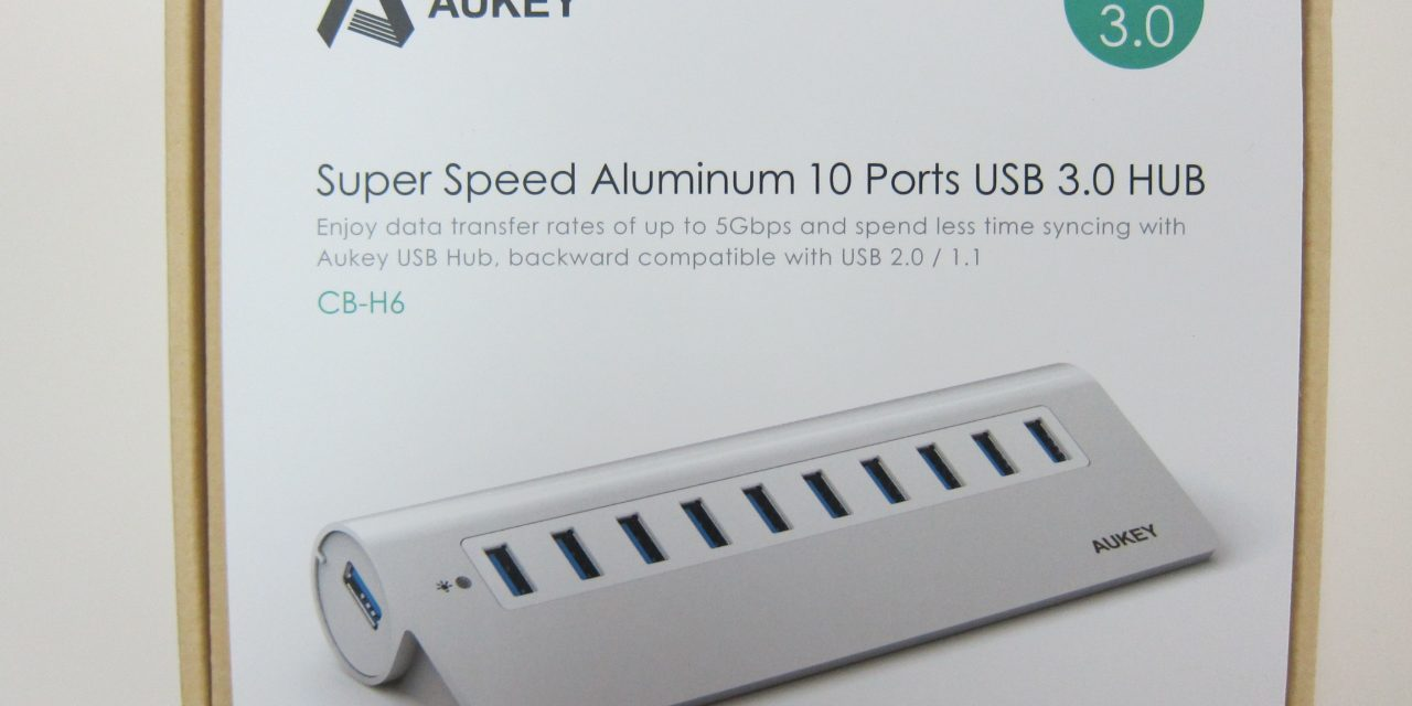 Aukey USB-3.0 10-Port Hub review