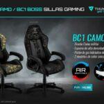 Nueva silla BC1 CAMO de ThunderX3