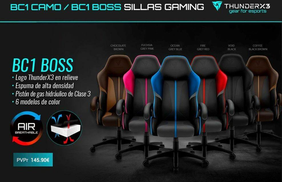 Nueva silla BC1 Boss