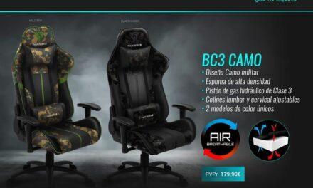 Nueva silla BC3 CAMO de ThunderX3