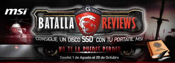 Batalla de reviews MSI