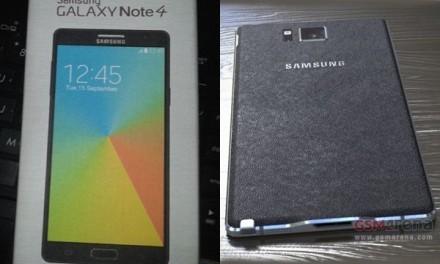 Filtrados los primeros benchmarks del Samsung Galaxy Note 4