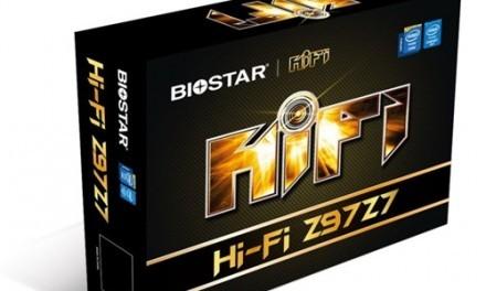 Biostar anuncia su nueva placa base Biostar Hi-Fi Z97Z7