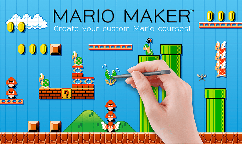 Mario Maker para Wii U disponible en 2015