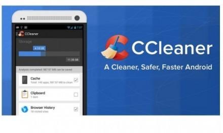 CCleaner llega para limpiar nuestros dispositivos Android