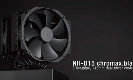 Noctua NH-D15 chromax.black REVIEW