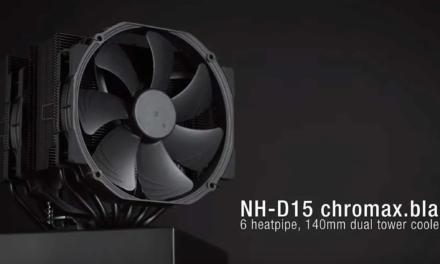 Noctua NH-D15 chromax.black REVIEW
