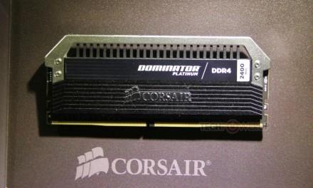 Corsair ha anunciado sus nuevos modelos de Memoria Ram DDR4