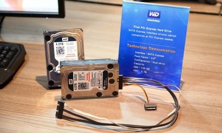 WD presenta el primer HDD SATA Express
