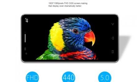 Elephone P3000s 3G, 64 Bits y resolución FHD