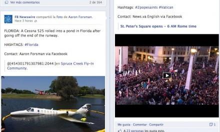 Facebook crea su propia agencia de noticias