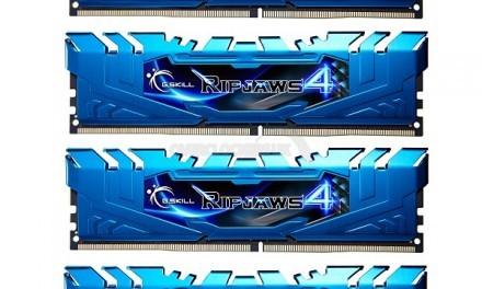 G.Skill muestra imágenes de las nueva memorias RAM RipJaws IV DDR4