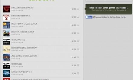 GOG ofrece juegos clásicos a tan solo 1,8€