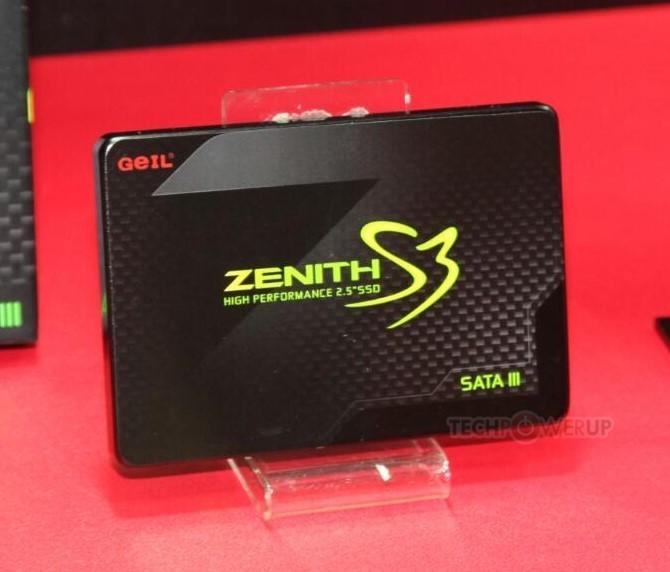 """Nuevos SSD """"ZENITH"""" de Geil"""
