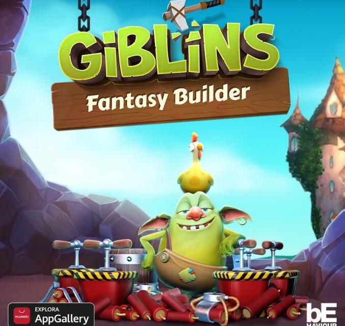 Los usuarios de Huawei entre los primeros en disfrutar del juego Giblins™ Fantasy Builder en AppGallery