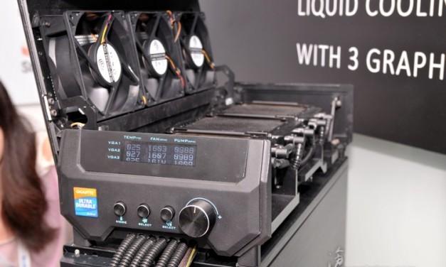 Gigabyte anuncia su nuevo sistema de refrigeración para gráficas