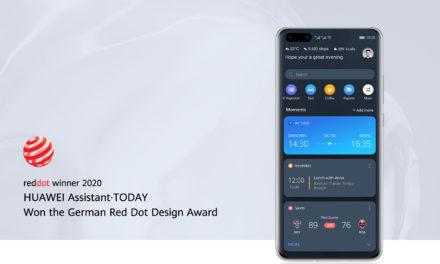 HUAWEI Assistant · TODAY recibe el reconocido premio Red Dot 2020