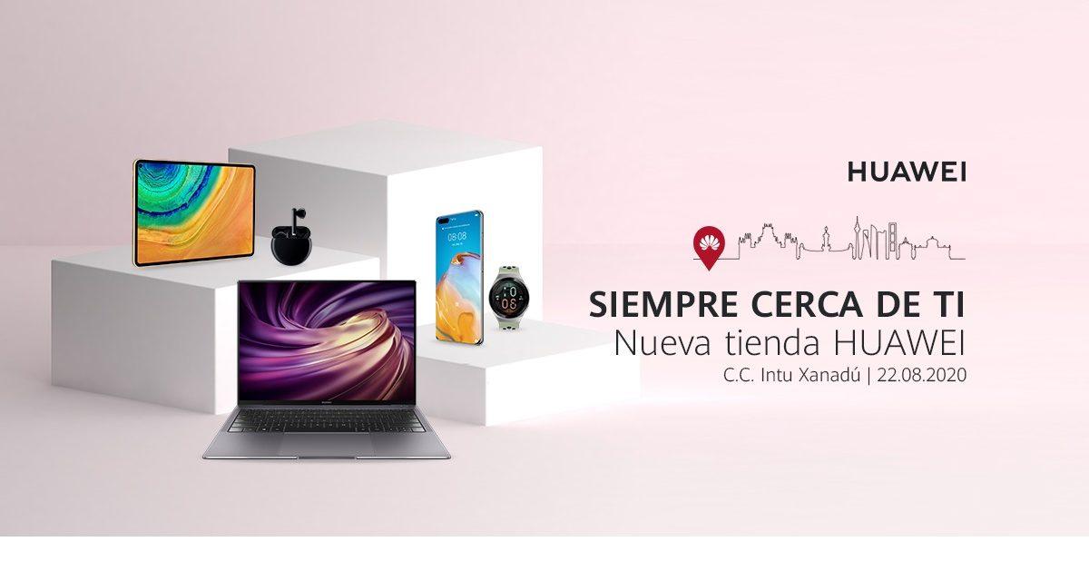 Huawei abre una nueva Tienda Huawei en el Centro Comercial intu Madrid Xanadú
