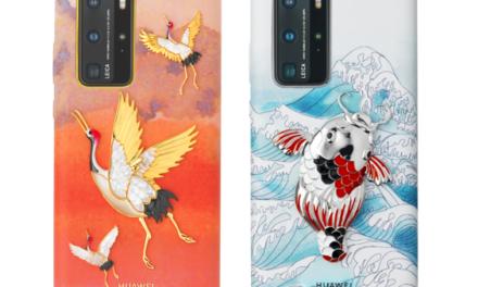 Huawei presenta una edición limitada de carcasas en colaboración con Quentin Obadia