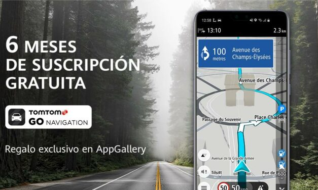 Huawei lanza una oferta exclusiva de TomTom GO Navigation en AppGallery