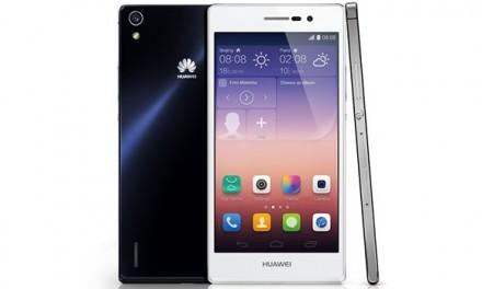 Huawei alza sus ventas con su nuevo smartphone Ascend P7