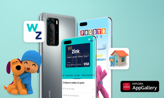 Pocoyo House y WiZink Bank se unen a Huawei AppGallery en España