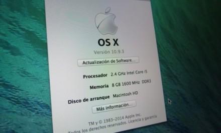 OSX 10.9.3 ya está disponible con soporte para pantallas 4K