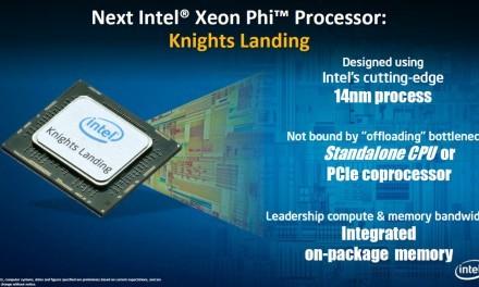 Intel filtra información de los Intel Xeon Phi Knights