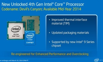 "Haswell-K ""Devil's Canyon"" vendrá con 4.0 GHz de serie y hasta 4.4 GHz Turbo"