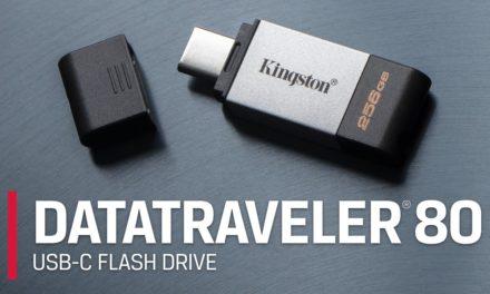 Kingston DataTraveler 80 Review