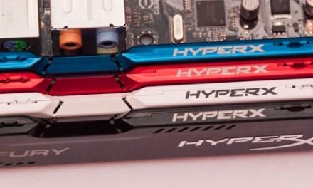 HyperX lanza FURY, nueva línea de memorias de gama básica para gamers