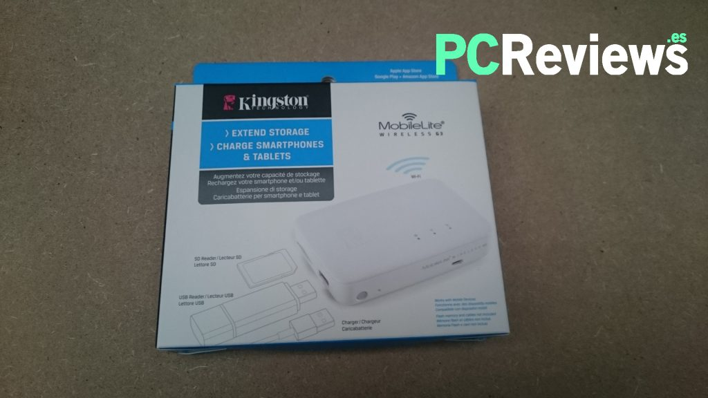 Kingston MobileLite Wireless G3 - 1