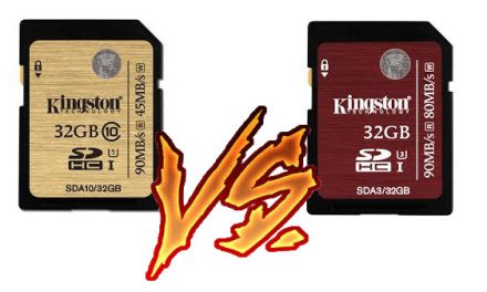 Comparativa Kingston SDA10/32GB y Kingston SDA3/32GB