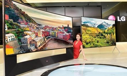 LG anuncia su televisor curvo con resolución 5K