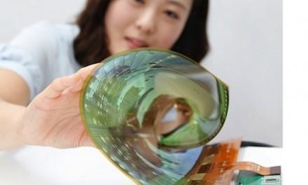 LG crea pantallas flexibles que podremos enrollar sin ocupar espacio