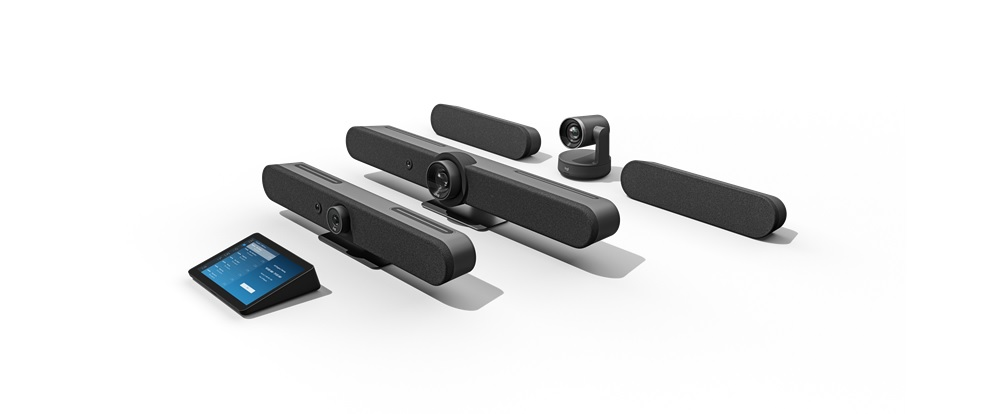 Logitech introduce la videoconferencia de última generación