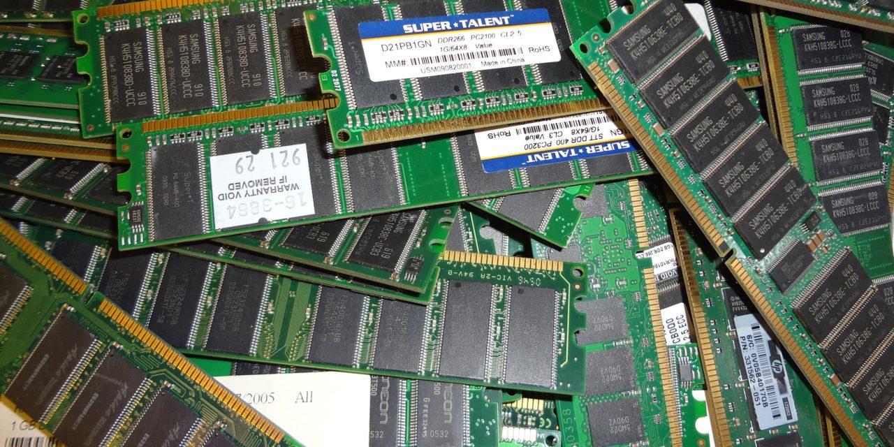 Bajada de precios en los SSD y memoria RAM DDR4