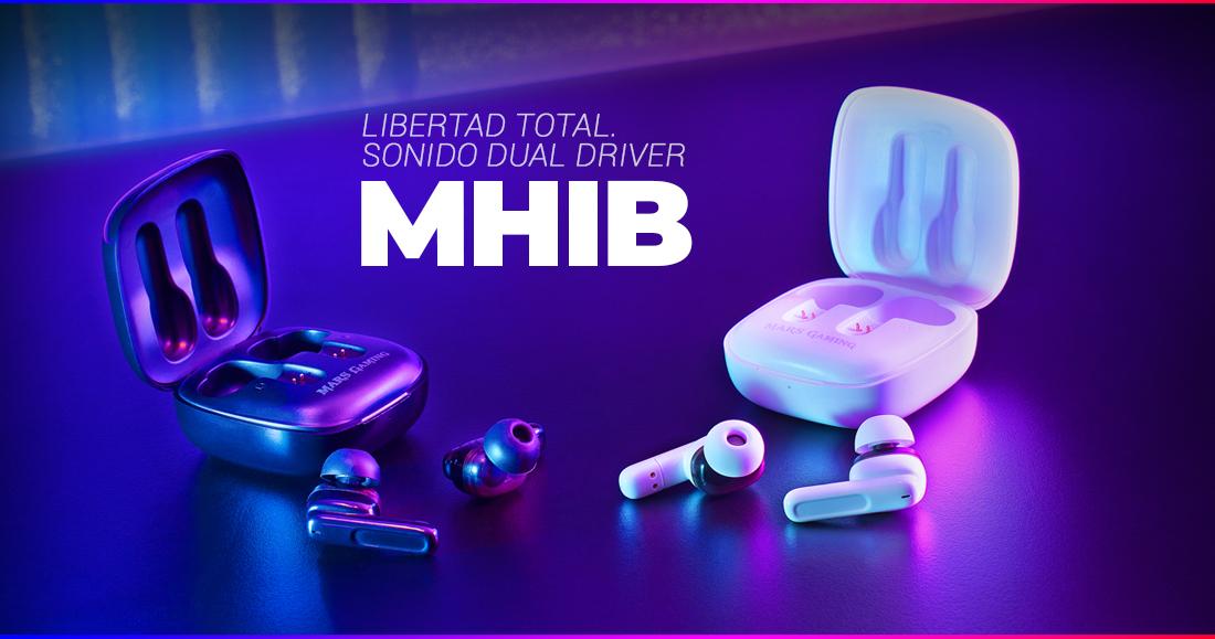 AURICULARES INALÁMBRICOS TWS MHIB