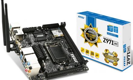 MSI ha anunciado su nueva placa Mini-ITX