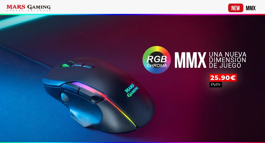 Nuevo ratón MMX