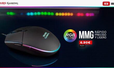 Nuevo ratón Mars Gaming MMG
