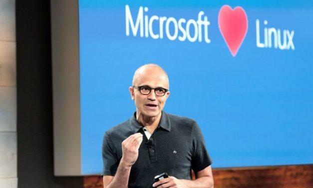 Microsoft conmociona al mundo